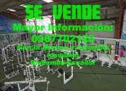 Vendo gimnasio en riobamba