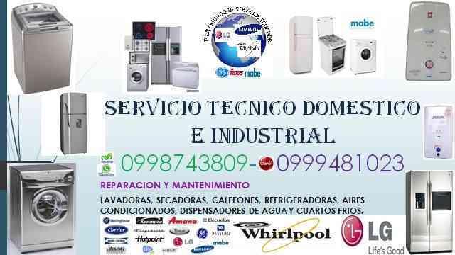0998743809 el bosque reparación de lavadoras secadoras refrigeradoras calefones quito monte serrín