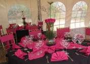 Alquiler de carpas, sillas, mesas, eventos sociales, bodas, quinceaños, bautizos, cocteles.