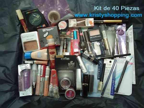 Lote de 40 Piezas de Cosmeticos de marcas americanas