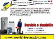 0978-768-191 en gauyaquil reparacion de lavadoras refrigeradoras a domicilio