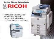 Ventas de copiadoras -mantenimiento e instalacion ricoh
