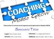 Seminarios taller coaching modelo grow