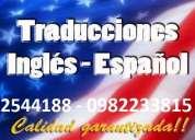 TraducciÓn certificada y notariada info: 2544188