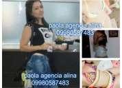 Hermosa paola agencia alina 0998087483 dispúesta domicilios moteles y con sitio