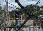 Grandes ofertas en andamios tubulares con escaleras de evacuación 0992526814