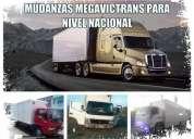 Transporte pesado megavictrans para fletes y mudanzas