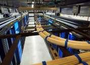 Auditoria, ingeniería, instalación y mantenimiento de redes.