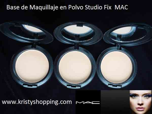 Maquillaje MAC Base liquida y en polvo studio fix