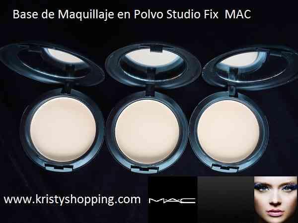 Maquillaje MAC Base liquida y en polvo studio fix
