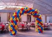 Se hacen decoraciones y arreglos con globos. garantizamos el mejor precio.