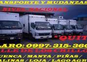 Transporte de mudanza, fletes y camiones en sangolqui, conocoto claro: 0997315-360