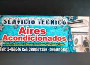 Reparacion de aires acondicionados. guayaquil