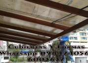 Pergolas en madera cubiertas estructurales con policarbonato