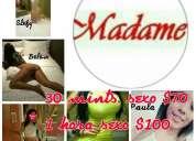 La madame modelos triple a de tv y farándula placer garantizado y belleza únicas 0983 082 508