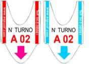 Ticket de turno - rollo de turno - rollo *eqsuof* guayas
