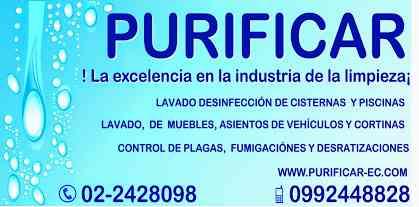 www.purificar-ec.com LIMPIEZA GENERAL DE CONDOMINIOS EN CUMBAYA