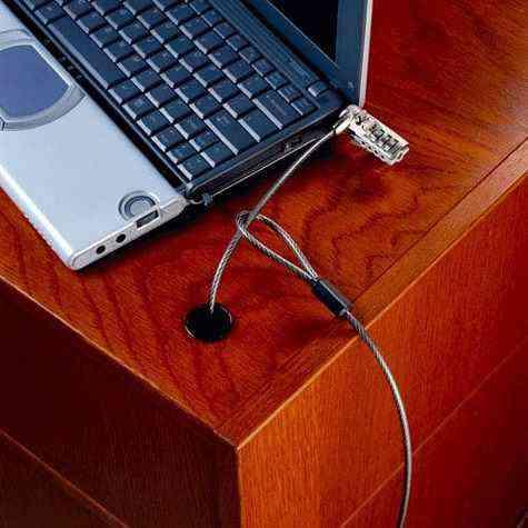 Candado De Seguridad Con Clave Para Portatil Laptop