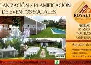 OrganizaciÓn eventos sociales