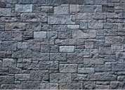 Lavamos fachadas de piedra porosa telef 0996818473