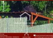 Pérgolas de madera , piso de madera, casas de madera,carchi- chimborazo- cotopaxi-ecuador