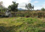 Vendo terreno de 8.000 m2 en cotacachi sector quiroga