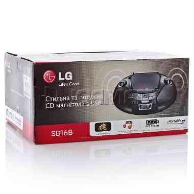 Radiograbadora LG SB16B