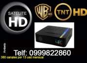 Television satelital gratis 380 canales