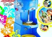 Máquinas para hacer raspados de hielo
