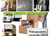 Camiones para mudanzas y fletes 0983487180