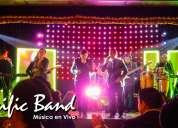 Banda profesional de musica para eventos