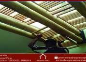 Pergolas de madera,casas de madera-cuenca-guayaquil-ibarra