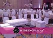 Salas lounge blancas para bodas en guayaquil