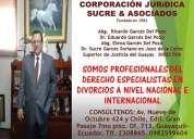 Abogados ecuatorianos  especialistas en divorcios  nivel nacional e internacional