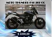 moto thunder en venta