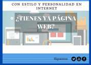 Si estas buscando una web profesional, llÁmanos
