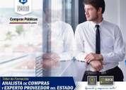Taller de formacion de analista de compra y proveedor del estado nivel basico (guayaquil)