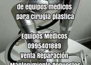 Venta y reparacion de equipos medicos para cirugia plastica