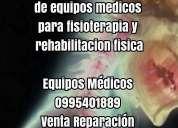 Venta y reparacion de equipos medicos para fisioterapia y rehabilitacion fisica