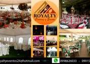 Alquiler y catering para eventos