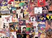 Vendo y cambio discos de vinil-rock-pop-disco--salsa-cumbias-