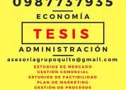 Tesis profesionales en capacitaciÓn de administraciÓn, finanzas...