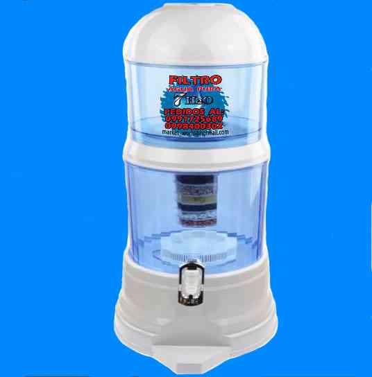 Adiós a los botellones de agua Purifica tu propia agua con Dispensador Purificador a $75