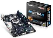 Tarjeta madre gigabyte ga-h81m-h para 4ta generacion
