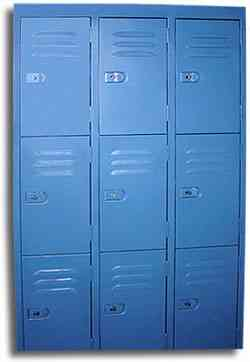 CASILLEROS, LOCKERS, MUEBLES METALICOS