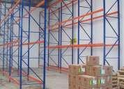 Perchas, racks para almacenaje de mercaderia desmontables y regulables