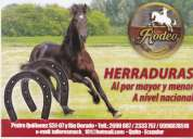 Herraduras para caballo marca rodeo