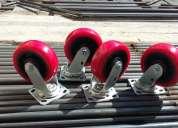 Ruedas con frenos para andamios de gran remate 3261089