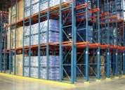Venta de racks, perchas, estanterias para almacenaje de mercaderia