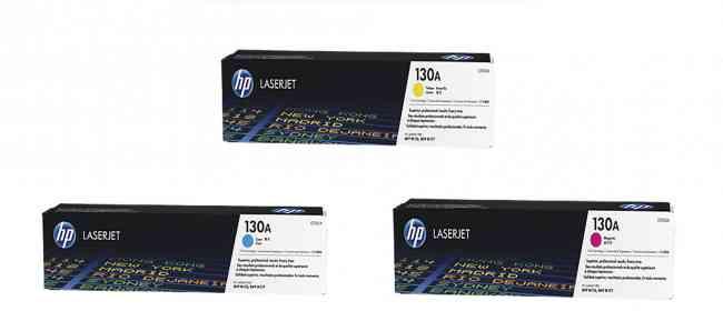 Cartucho de tóner original LaserJet HP 130ª color